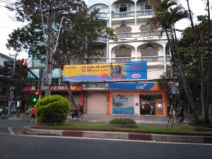 Treo băng rôn Bình Định
